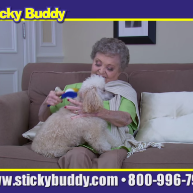 Stop What You're Doing And Watch This Sticky Buddy Informercial Dub Right Now
