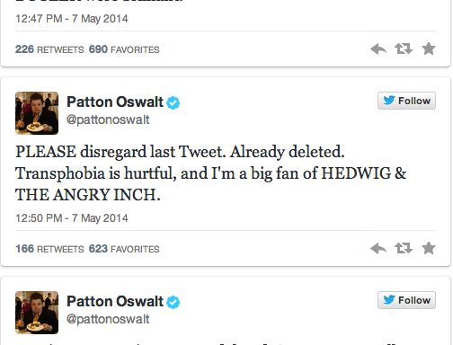 Patton Oswalt's Twitter Outrage Experiment Failed Miserably And Here'sWhy