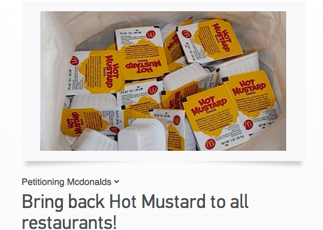 Is Hot Mustard The New Basic Bitch Of The Sauces?