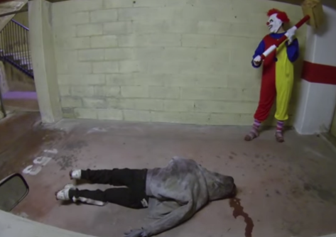This Killer Clown Video Just Might Be The Scariest Thing On TheInternet