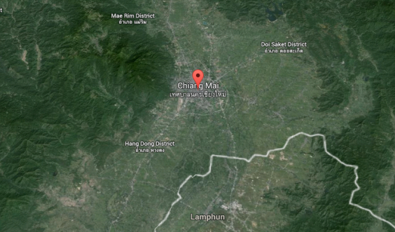 I Was In The Chiang MaiEarthquake