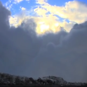 This Insane Man Films An Avalanche And Gets Buried Doing It — All While Laughing