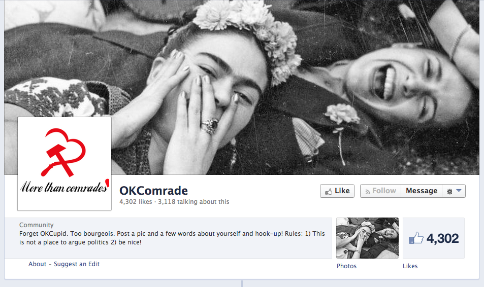 Facebook / OKComrade