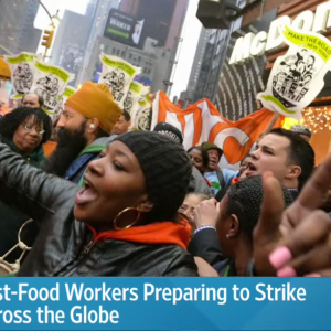 You're Not Special: Fire Fast Food Strikers