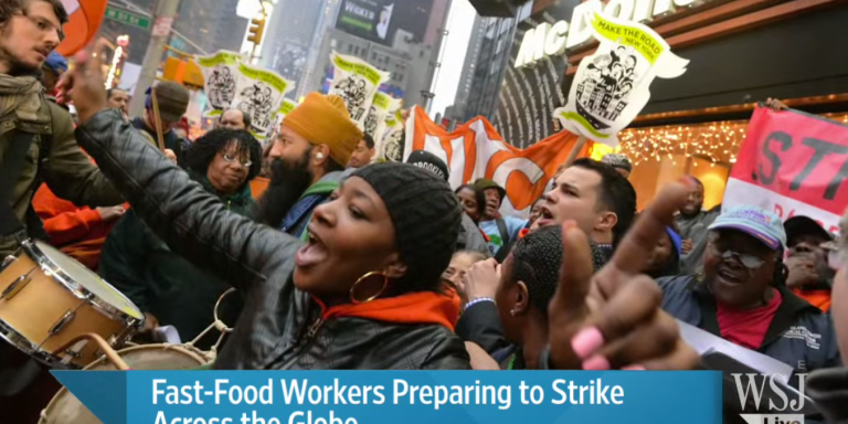 You're Not Special: Fire Fast FoodStrikers