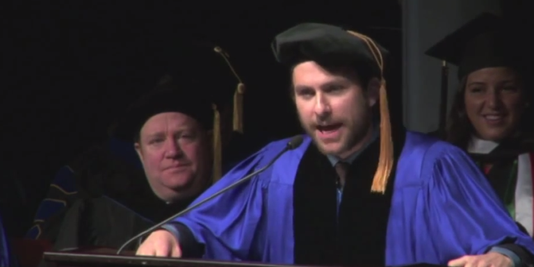 Charlie Day's Merrimack College Commencement Address Is One Of The Best You'll EverHear
