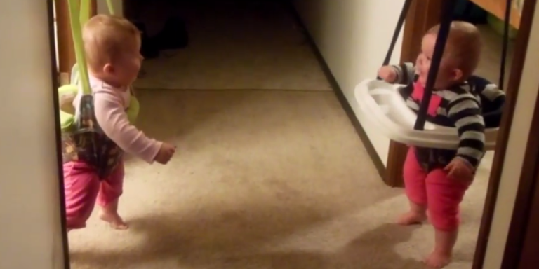 Watch These Two Bouncing Babies Prove That Laughter Is TrulyContagious