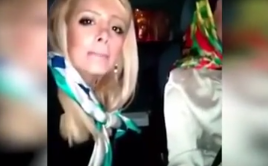Watch These Two Girls Get Into A Car Accident While Taking A Selfie