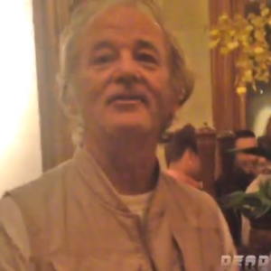 Watch Bill Murray Crash A Bachelor Party And Give Epic Advice To Some Bros