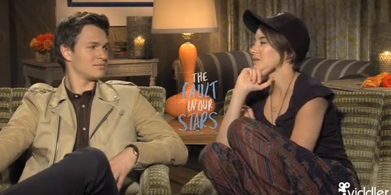 We Interviewed The Cast Of The Fault In Our Stars: Here's The One Thing Shailene Woodley Says Nobody Knows About AnselElgort