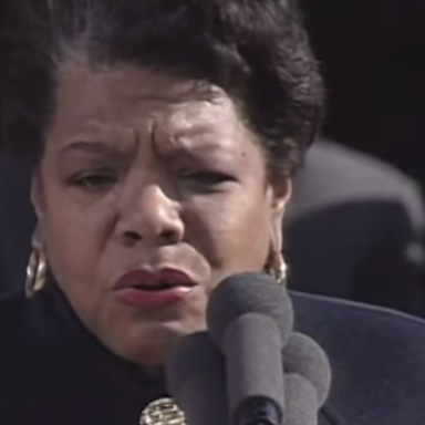 """Listen To Maya Angelou's Beautiful And Powerful Reading Of """"On The Pulse Of Morning"""""""