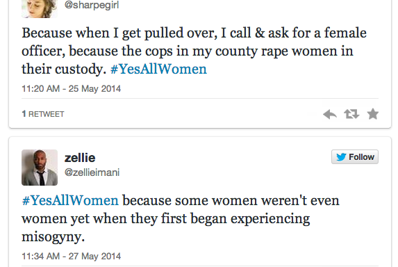 #YesAllWomen Matters To Yes, All Men