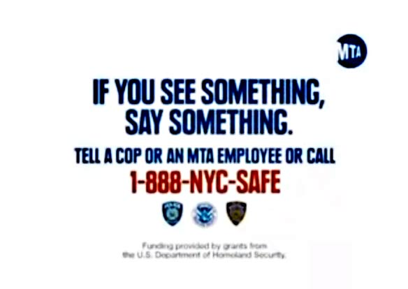 If You See Something, SaySomething