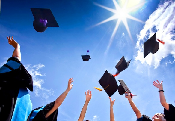 Graduation: It's All Uphill FromHere