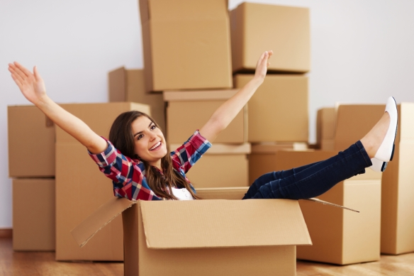"""""""Fuck it - I'm going to live in this box instead!"""" (Shutterstock)"""