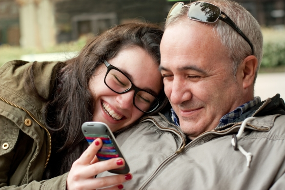 """""""Show me this Tinder thing you kids keep talking about."""" (Shutterstock)"""