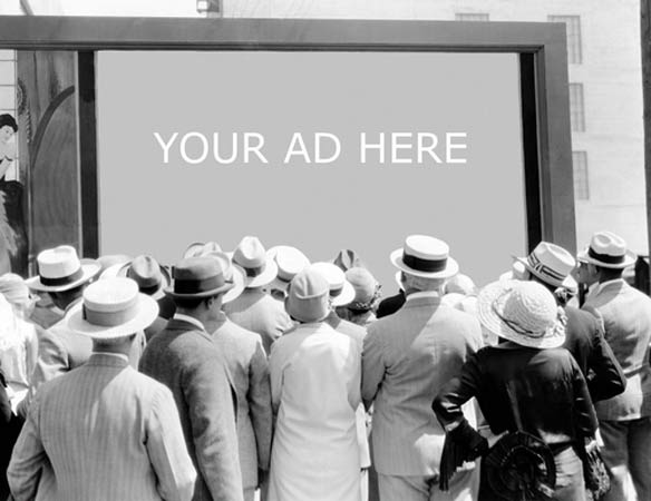 We Are Slaves To Advertising