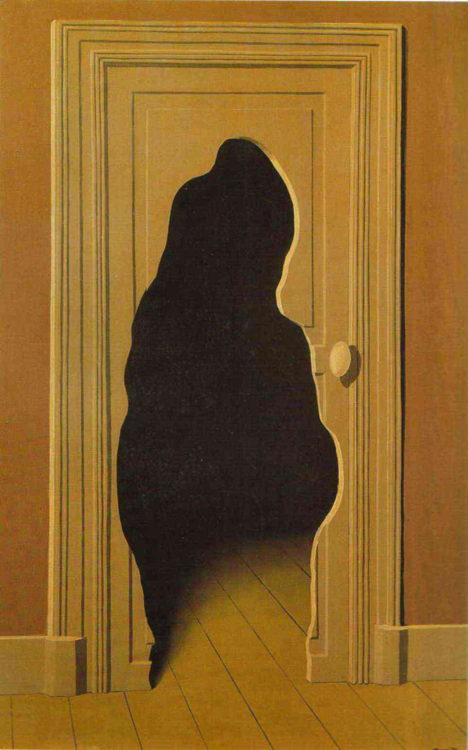 The Unexpected Answer - René Magritte