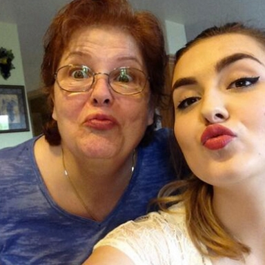This Is What Happens When Teens Make Their Grandmas Take Duck Face Selfies With Them