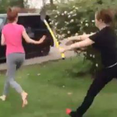 If You Thought The Girl Fight With A Shovel Was Great, Wait Until You See The Remix