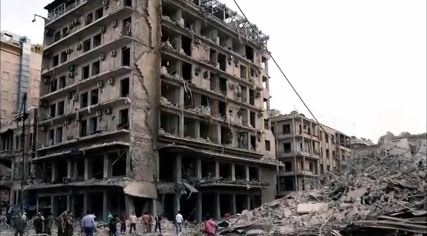 Massive Explosion Flattens Entire Hotel And All The Buildings AroundIt