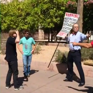 Have You Ever Wanted To Go Nuts On An Angry Street Preacher? This Student Did.