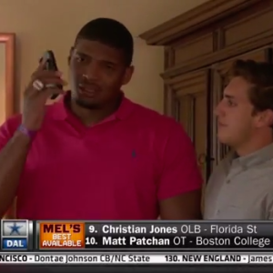 This Reaction By The First Openly Gay Man Drafted Into The NFL Will Hit You Right In The Feels