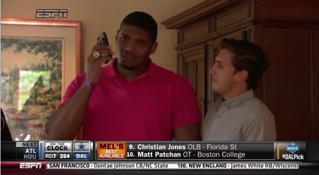 This Reaction By The First Openly Gay Man Drafted Into The NFL Will Hit You Right In TheFeels