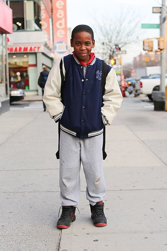 """""""If you could change one thing about adults, what would it be?"""" """"A lot of them are grumpy."""" Facebook / Humans Of New York"""
