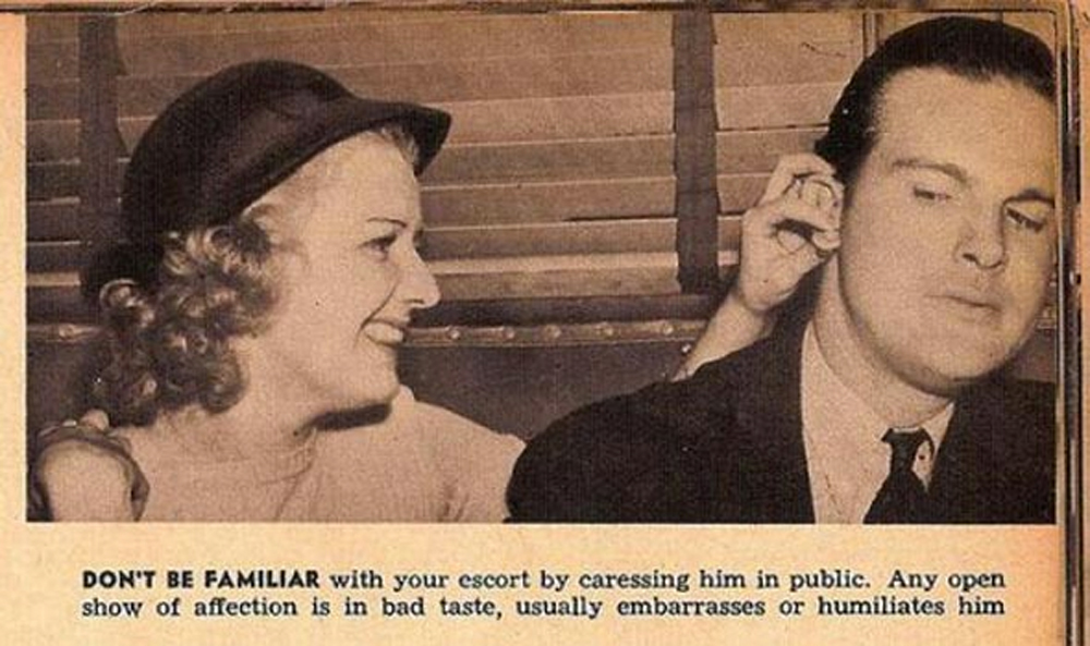 13 Dating Tips For Women From The 1930s That Are Hilarious Now