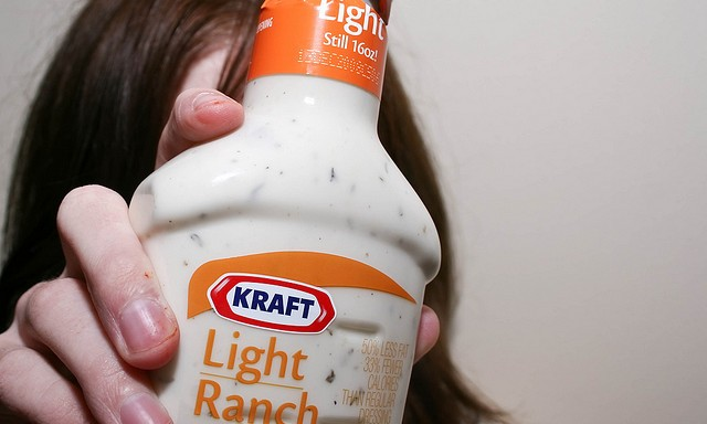 Ranch Dressing Tastes Great On Everything — Don't You Think So?