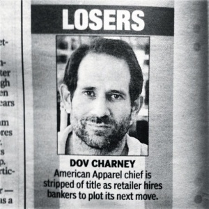 Here's My Weird Theory About Why Dov Charney Was Ousted From American Apparel