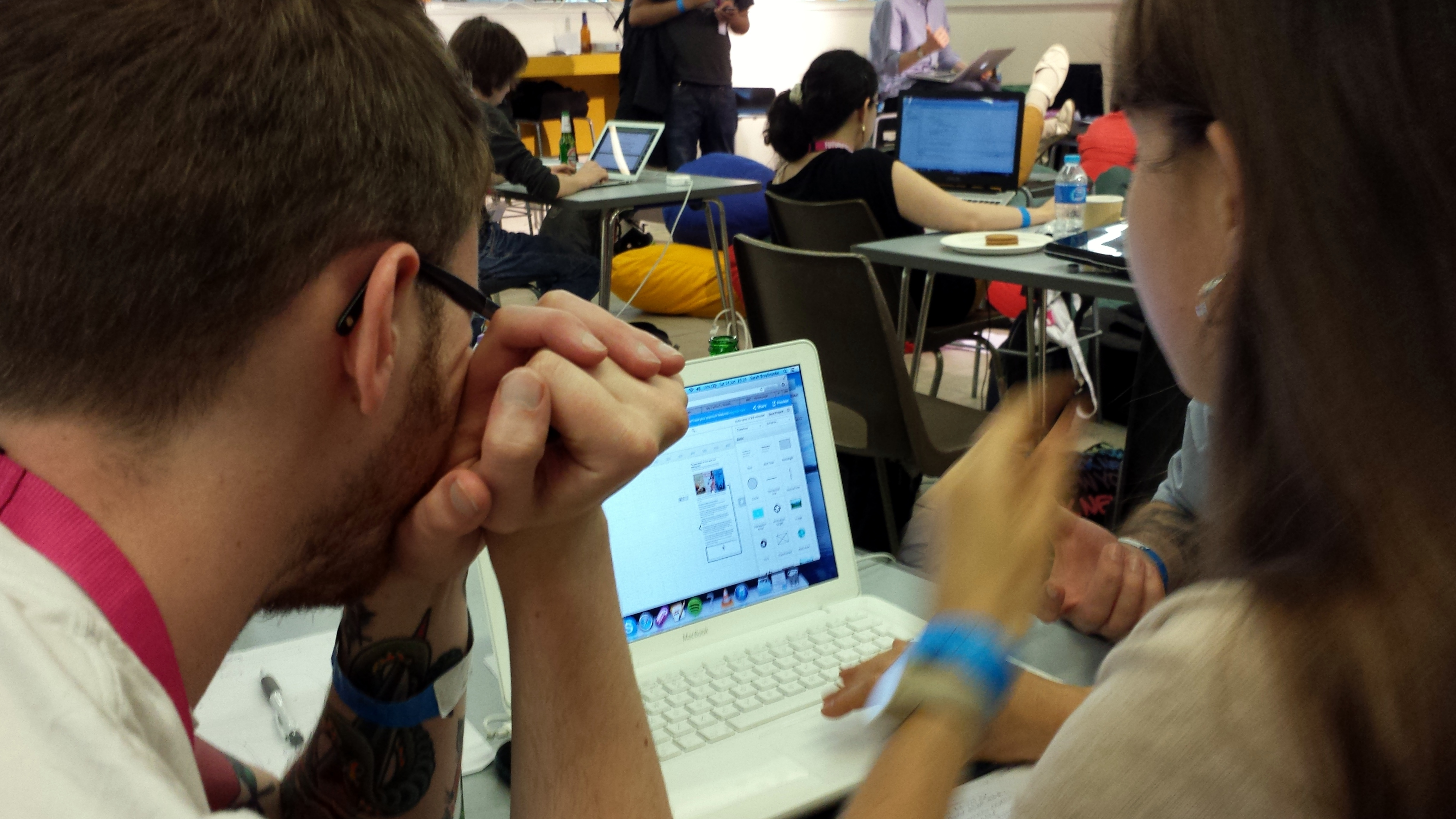 At London's FutureBook Hack. Photo: Porter Anderson
