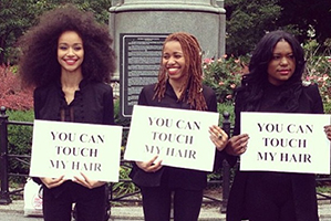 Watch What Happens When White People Touch Black Women's Hair