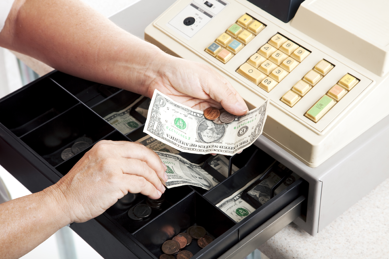 Cash Register Drawer Horizontal