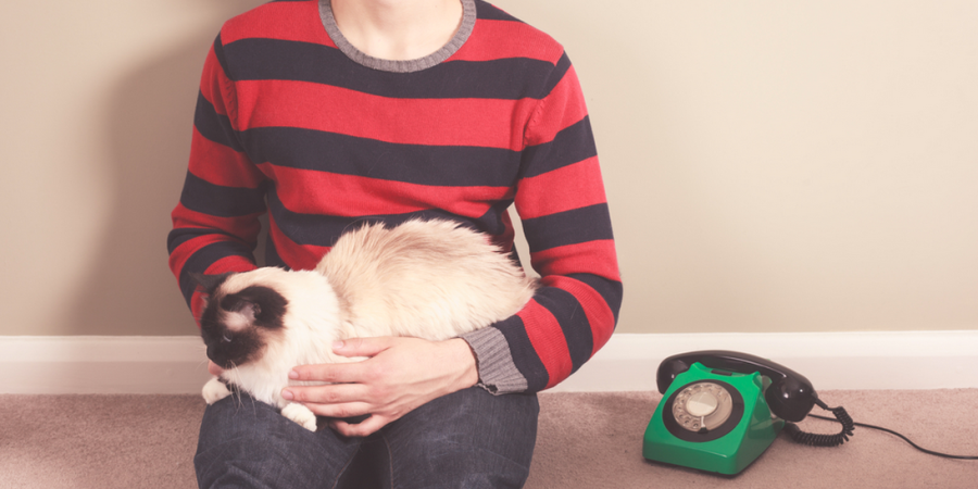 11 Things That Happen When You Date A Guy Who Loves HisCat