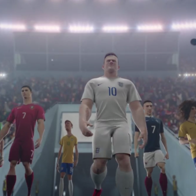 This Awesome Nike Animation Brings Soccer Superstars Together Before The 2014 World Cup