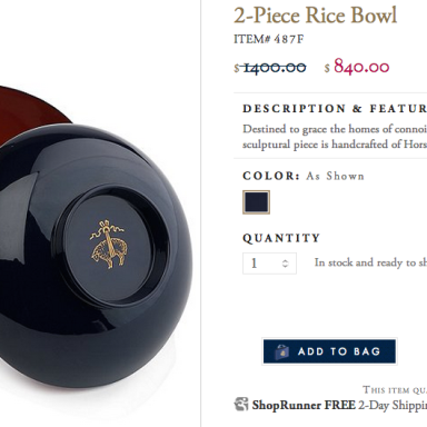 Brooks Brothers Thought You'd Like To Dish Out $840 For A Bowl (Among Other Ridiculous Things)