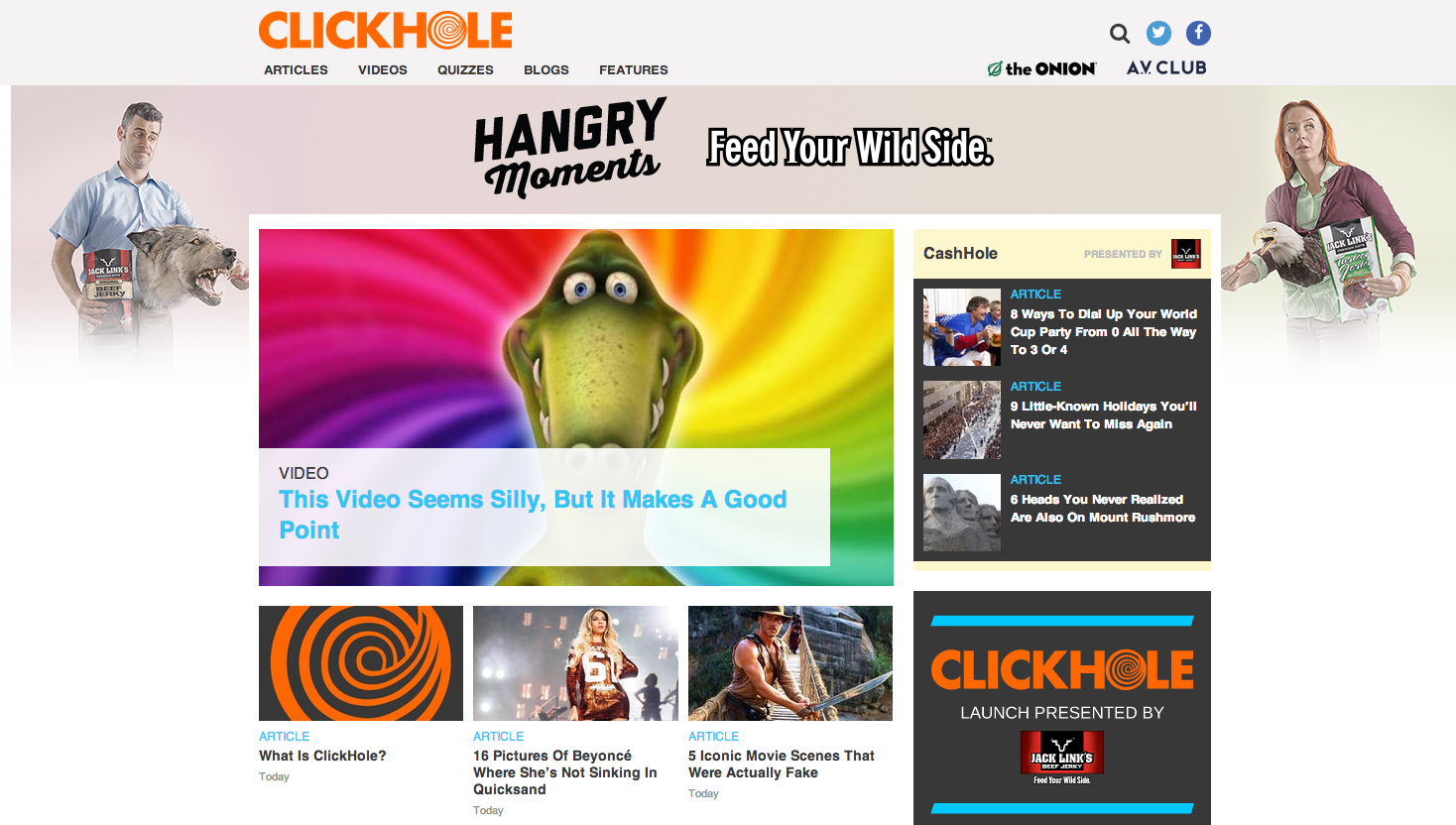 Clickhole