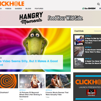 Clickhole. Funny… But Necessary?