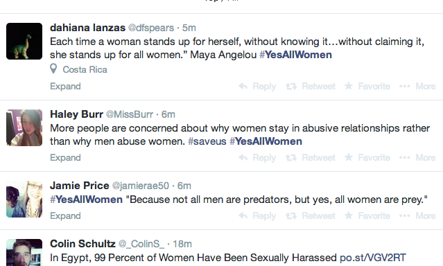 You Don't Have The Right To Feel Uncomfortable,#YesAllWomen