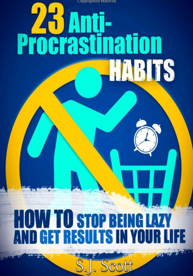 Amazon / 23 Anti-Procrastination Habits: How to Stop Being Lazy and Get Results in Your Life