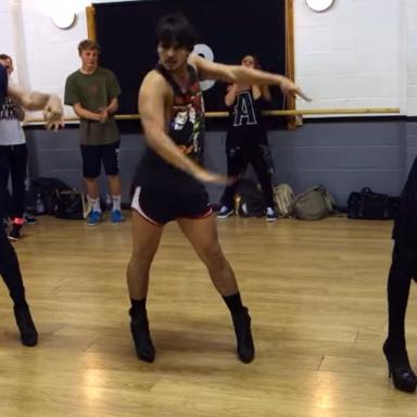 This Guy Dancing In Heels To Beyonce Is Beyond Fabulous
