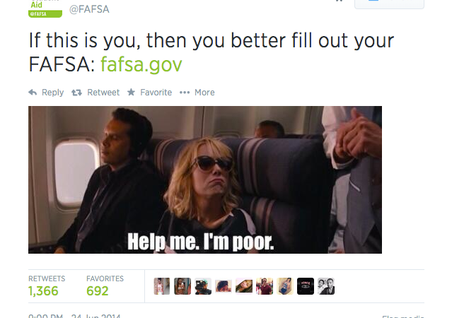 The Federal Student Aid's Twitter Account Posted The Dumbest Tweet You Could Possibly Imagine