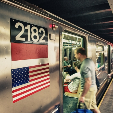 What I Saw On The New York Subway Restored My Faith In Humanity