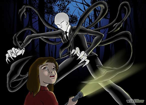 "From ""How to Draw Slender Man"" on wikiHow."