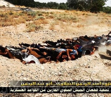 Terrorists In Iraq Have Massacred 1700, Shamelessly Photographing Mass Graves