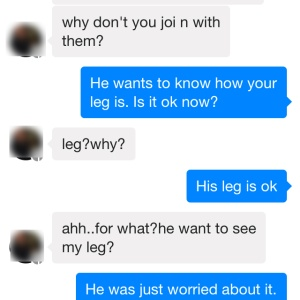 What Happens When You Actually Respond To That Random Facebook Message From A Complete Stranger?