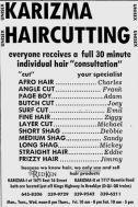 1973 karizma haircut