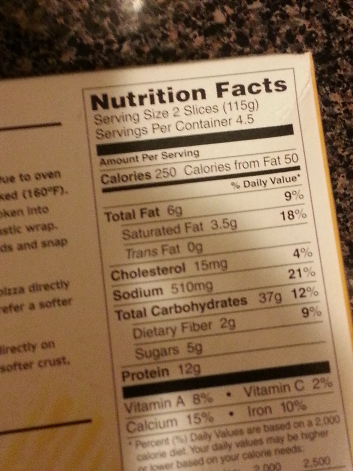 That's the serving size?